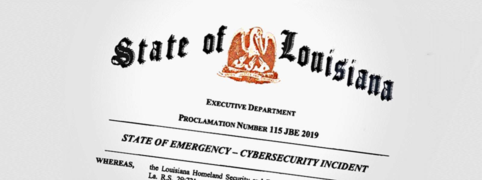 Louisiana governor declares state emergency after local ransomware outbreak