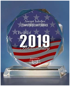Ascent InfoSec Receives 2019 Best of Schaumburg Award